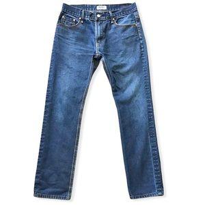 WESC   Men's Straight Leg Dark Jeans 32x29.5